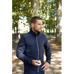 Veste 3 Couches Mixte Softshell Manches Amovibles