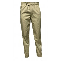 Pantalon coupe confortable Renan Beige