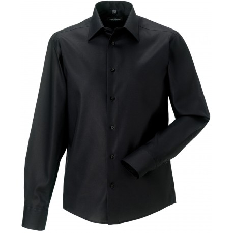 Chemise Homme Sans Repassage Moderne Russell Manches Longues