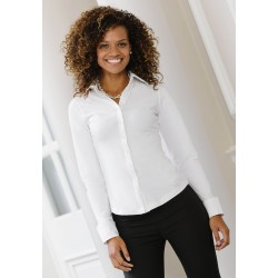 Chemise Femme Fittée Russell Manches Longues