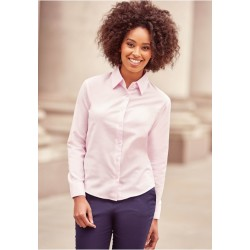 Chemise Femme Manches Longues Oxford Russell
