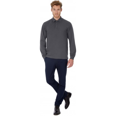 POLO HOMME MANCHES LONGUES HEAVYMILL