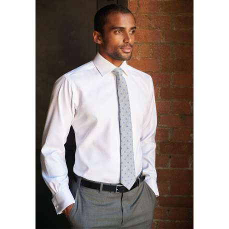 Chemise ANDORA homme coupe classique manches extra longues